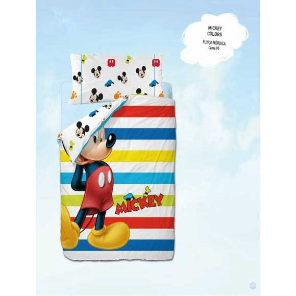 Funda Nòrdica Mickey Colors